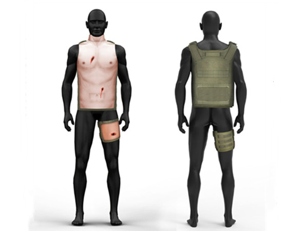 穿戴战伤模拟训练系统