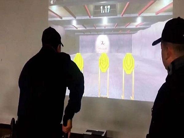 快速反应射击激光模拟训练系统